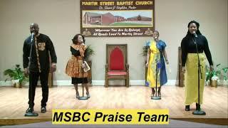 February 21, 2021 Sunday Morning Worship from Martin Street Baptist Church