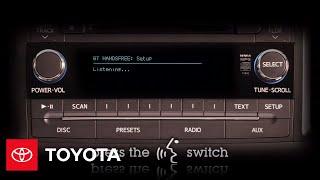 2011 - 2012 Сієнна Як: Bluetooth Стільниковий Телефон (Без Навігації) | Тойота
