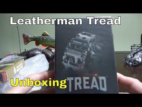 Leatherman Tread unboxing