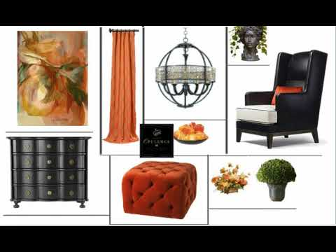 Interior Design Concept Board