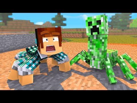 O CREEPER VIROU UMA ARANHA !! - [ Vida de Aranha #6 ] - Minecraft
