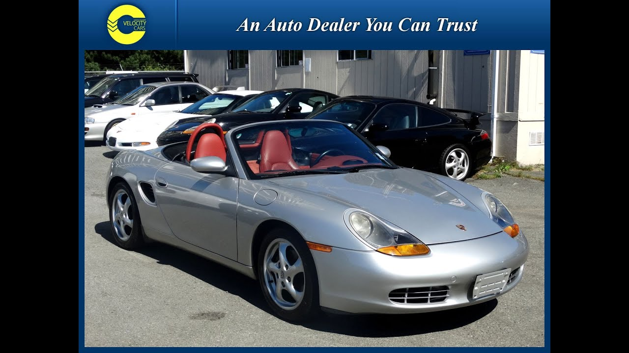 1998 porsche boxster 2 5l roadster convertible for sale in vancouver youtube. Black Bedroom Furniture Sets. Home Design Ideas