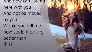 Everything by Lifehouse with Lyrics