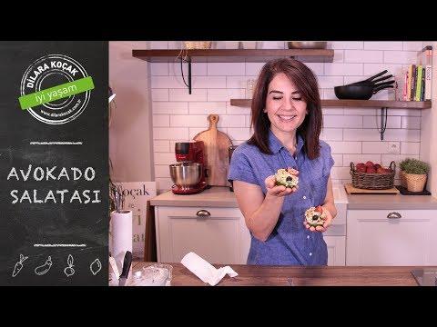 Avokado Salatası | Dilara Koçak | Afiyetle Diyet