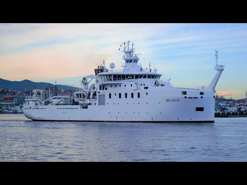 """Belgica"" Scientific and research vessel built in Vigo"