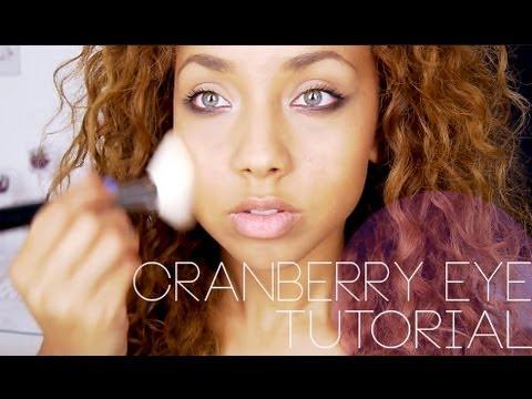 A/W Smokey Cranberry Eye ♡ Beautycrush