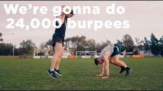24,000 Burpees in 24 Hours For Mental Health