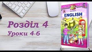 Англійська мова (2 клас) Алла Несвіт / Розділ 4 (Уроки 4-6)