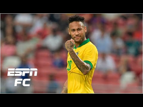 Neymar is still nowhere near Brazil's Pele, Ronaldo or Zico