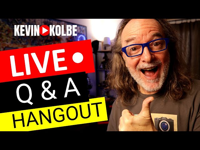 Weekly LIVE Q&A and Video Creator Hangout