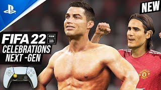 FIFA 22 : ALL 102 CELEBRATIONS |  PLAYSTATION & XBOX