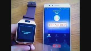 """Советы от блога """"MediA - Gonchar"""". Как связать """"Smart"""" часы (DZ09) со смартфоном. Android"""