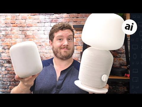 IKEA + Sonos Symfonisk VS HomePod! Which Speaker Wins!?