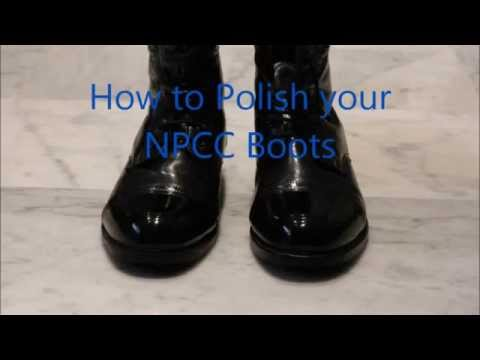 Best Way To Polish Military Shoes
