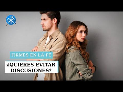 ¿Quieres evitar discusiones? | Firmes en la fe - P Gabriel Zapata