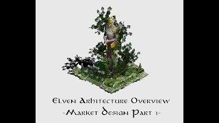 AoE 2 Elven Architecture Building a Market Part 1 YouTube