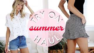 HUGE TRY ON HAUL | SUMMER 2017 ☀ MADEWELL TOP SHOP ASOS HELP