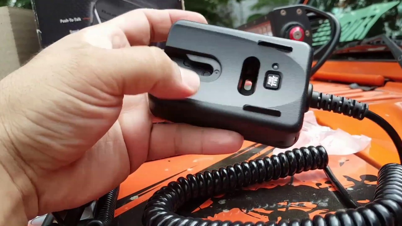 CB RADIO UNIDEN BEARCAT 880 with Bluetooth Hand Mic BC90SW Unbox, Review