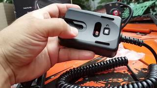 CB RADIO UNIDEN BEARCAT 880 with Bluetooth Hand Mic BC90SW Unbox, Review.