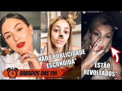 Renata Meins SE IRRITA COM COMENTÁRIOS! Amanda Pontes E POLÊMICA, LINDSAY WOODS E FAIL NO SUPERPOP