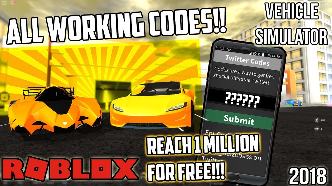 *NEW*ALL WORKING VEHICLE SIMULATOR CODES!! ALMOST REACH ...