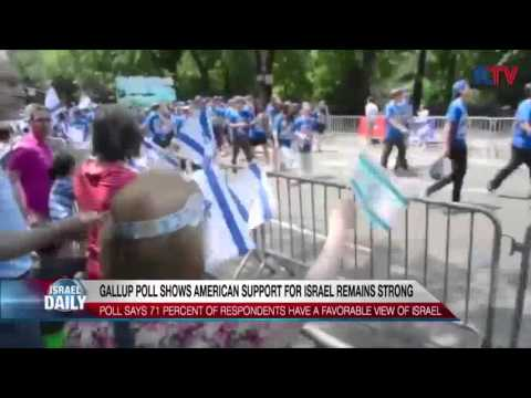Gallup Poll Shows American Support For Israel Remains Strong