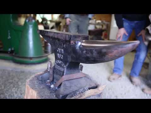 Blacksmith Tool Show & Tell: Little Giant Power Hammer and Various Anvils