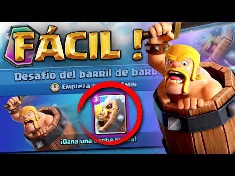 ¡¡ GUIA PARA GANAR EL BARRIL DE BARBAROS A LA PRIMERA !! TIPS & CONSEJOS - Clash Royale [XHEO]