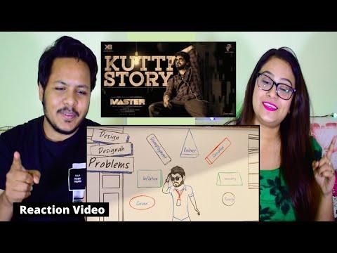 Master - Kutti Story Lyric REACTION   Thalapathy Vijay   Anirudh Ravichander   Lokesh Kanagaraj