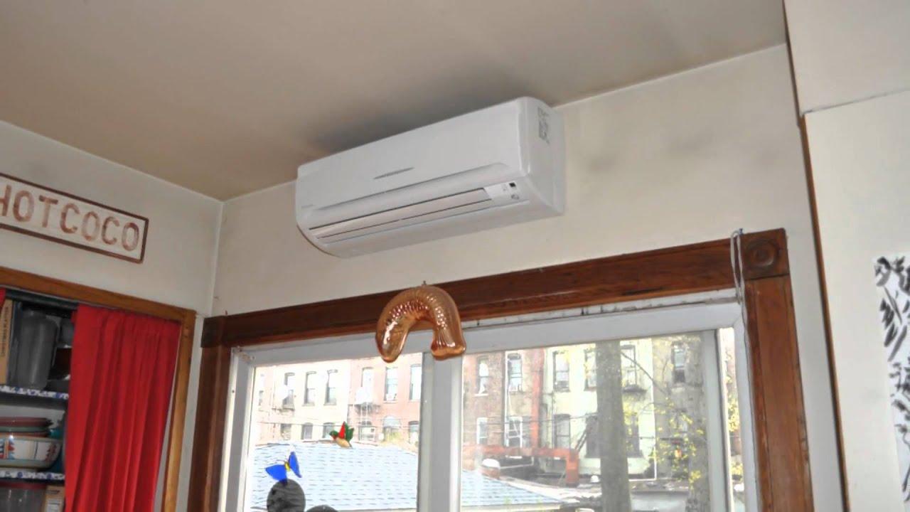 Daikin ductless Air conditioners installation Mini split