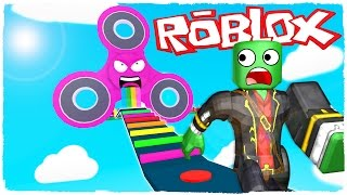 👉 ¡ESCAPE DEL FIDGET SPINNER EN ROBLOX!
