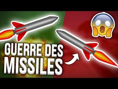 LA GUERRE DES MISSILES - VERT VS ROUGE - MISSILE WARS