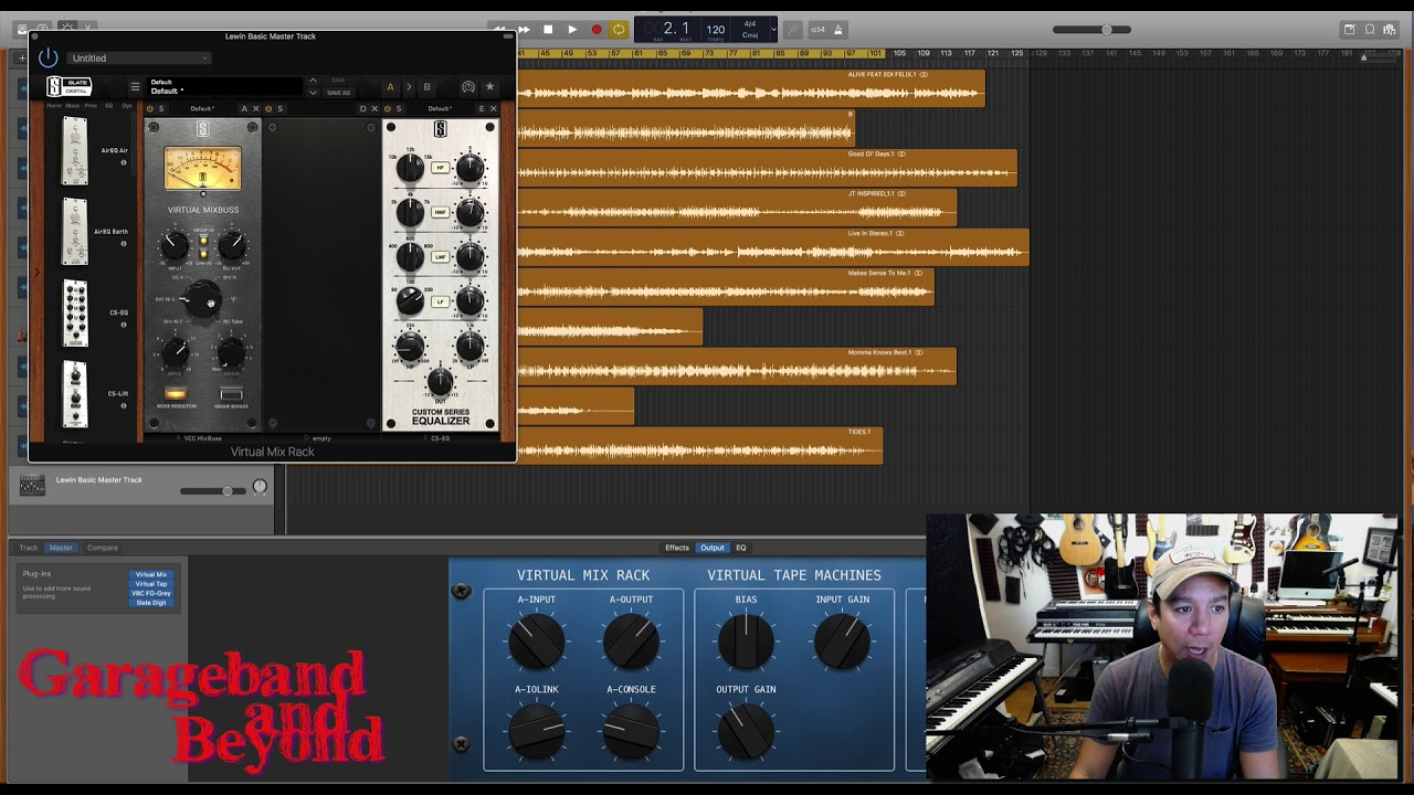 Mastering Songs with Garageband 10 - Do You Need To Export First?