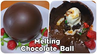 Melting Chocolate Balls  Irresistible Chocolate Dessert Recipe  Kanak&#39s Kitchen