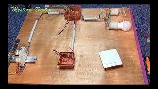 Cum funcționează și cum instalăm un întrerupător dublu