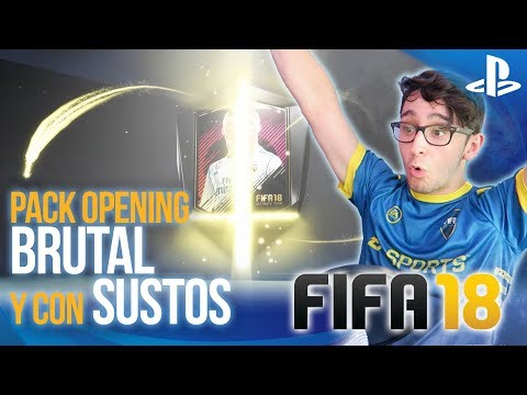 FIFA 18 BRUTAL Pack Opening de MUCHOS CAMINANTES!