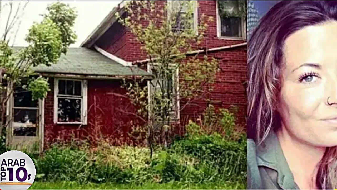 وجدت منزلًا مهجورًا في الغابة.  ولكن عندما فتحت الباب، فوجئت بهذا!