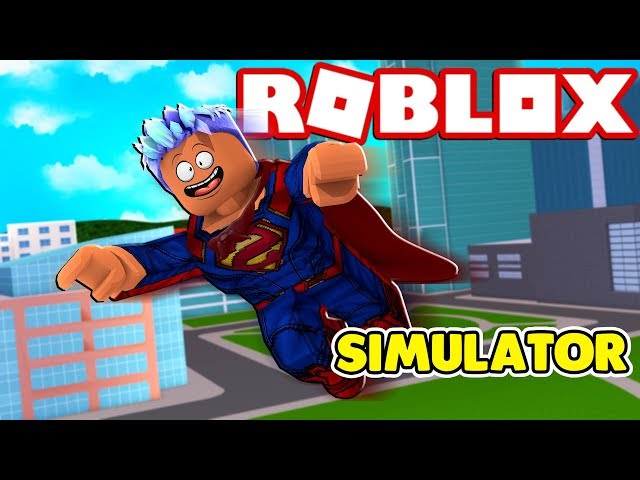 ROBLOX SUPER POWER TRAINING SIMULATOR!