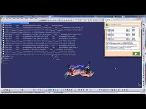 Catia Macro / DeskDoc: Relink broken links