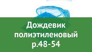 Дождевик полиэтиленовый р.48-54 (BoyScout) обзор 61190 производитель ЛинкГрупп ПТК (Россия)