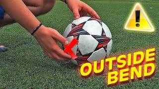 How To Shoot & Pass Like Di Maria, Modric & Quaresma - Trivela Outside Shot Tutorial