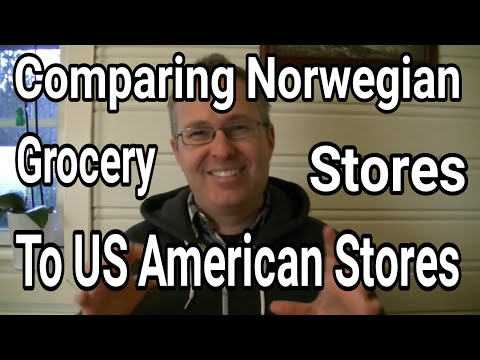Differences in Grocery Stores Norway vs USA   AmeriNorge