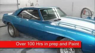 1969 Camaro Restoration, Start to finish