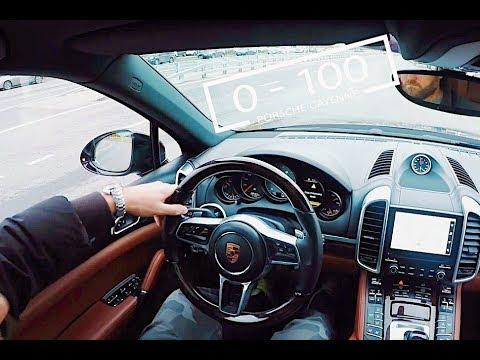 Porsche Cayenne S Diesel Chiptuned, Startup, Sportexhaust Notes, 0-100 Gps