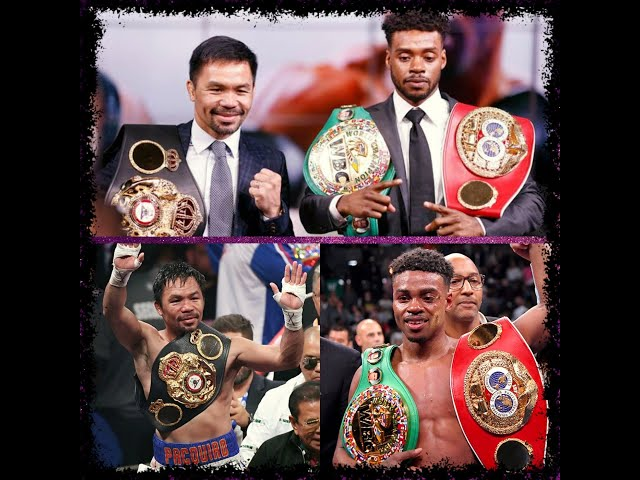 MANNY PACQUIAO SHOULD DICTATE FIGHT AGAINST ERROL SPENCE JR, SAYS BOXING PROMOTER