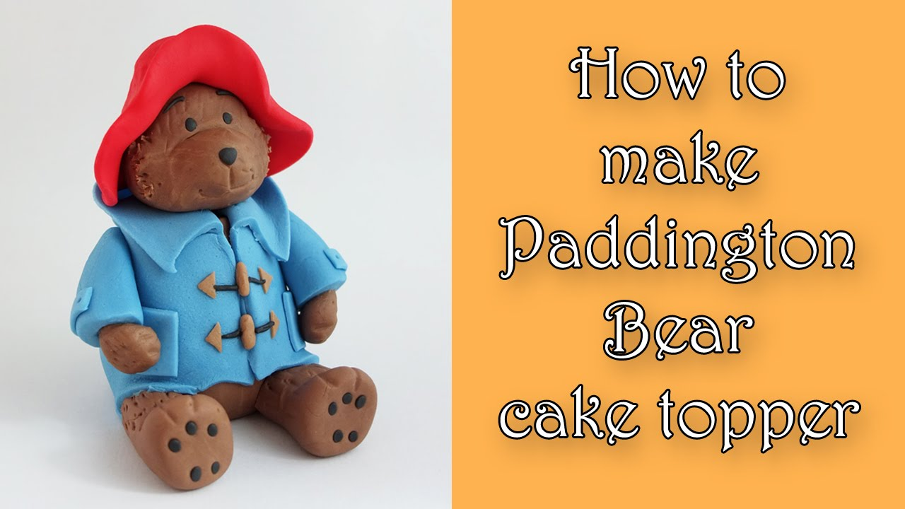 How To Make A Bear Cake Topper