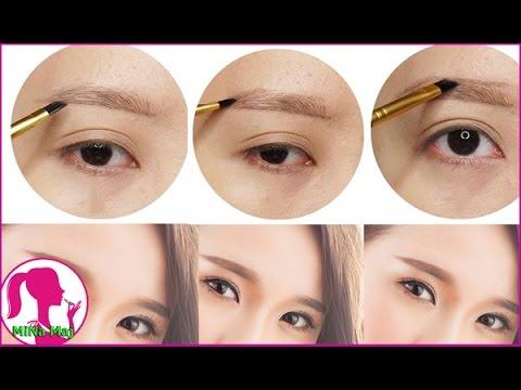 Cách Vẽ Chân Mày Ngang Đẹp - Easy Eyebrow Tutorial