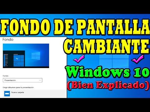 COMO PONER VARIAS IMAGENES DE FONDO DE PANTALLA EN WINDOWS 10 Y QUE CAMBIE AUTOMATICAMENTE 🚀✅2021✅