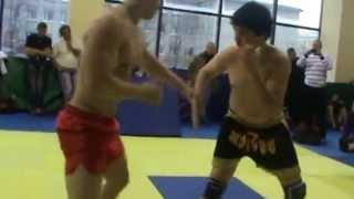 Боевое самбо. Глубокий нокаут броском / Fighting sambo. Deep knockout throw.