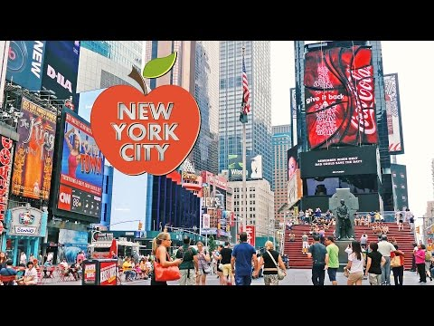Streets of New York City, 4K video